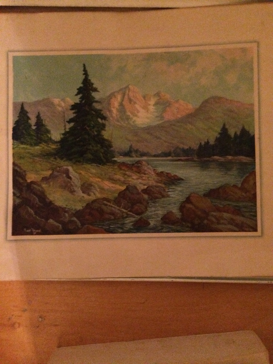 I Have A Robert Wood Painting That I Cannot Find Anywhere