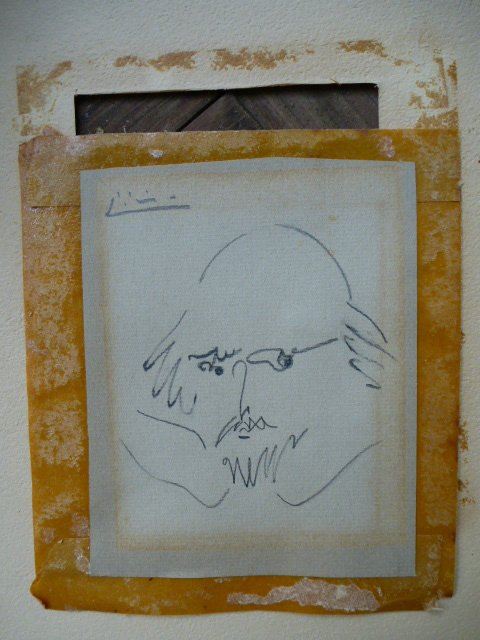 Picasso Pencil Drawing Of William Shakespeare Pablo