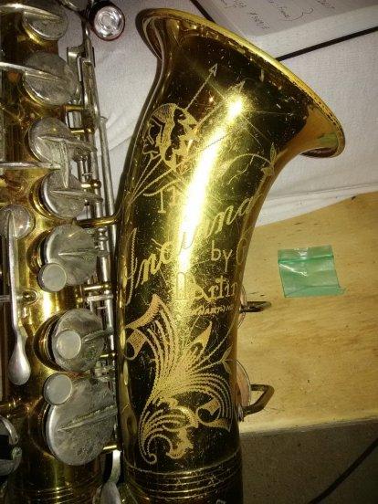 Martin Centennial Tenor Sax 142552   Saxophone People
