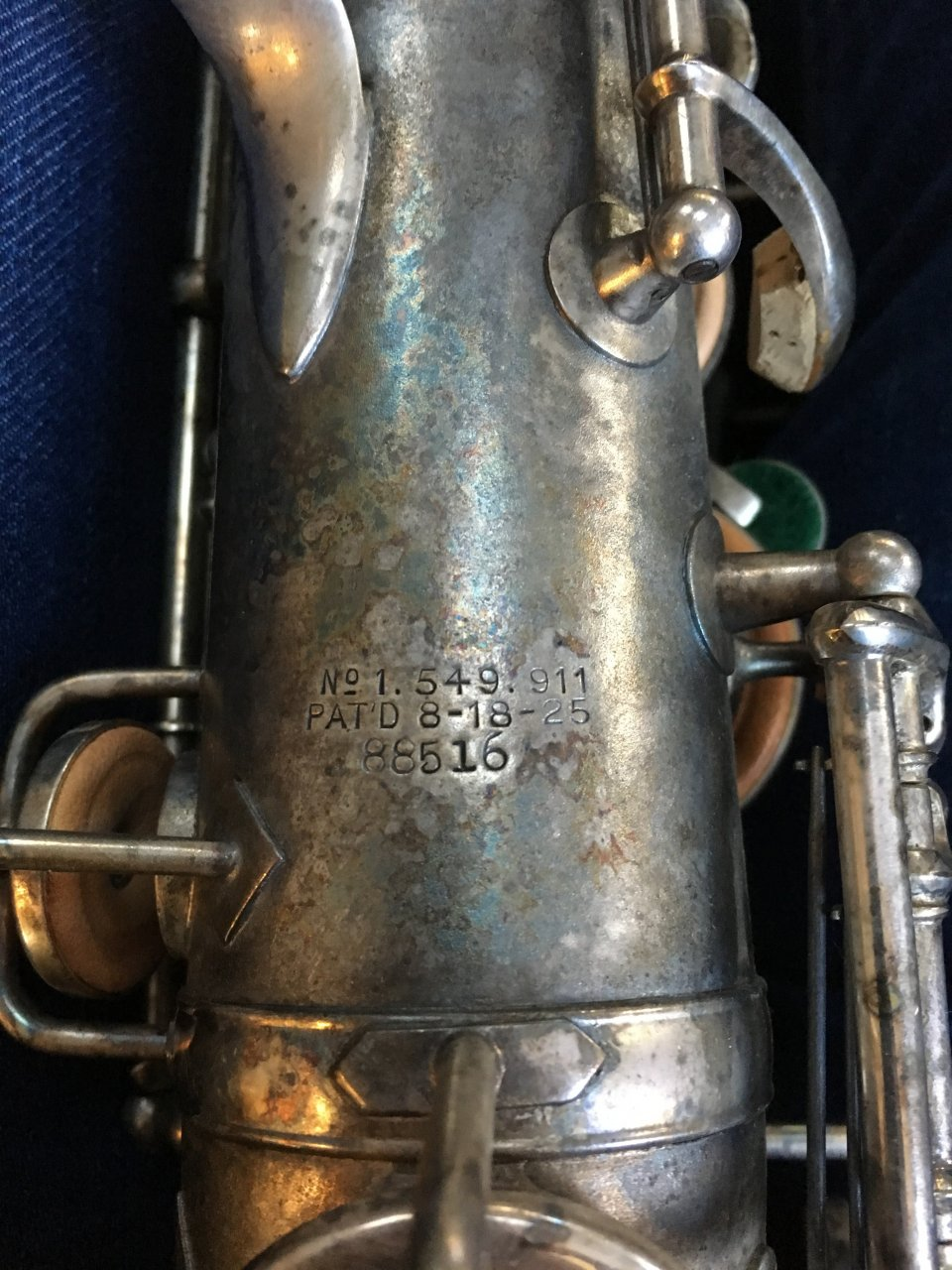 I Have A King White Silver Sax  Probably Alto  Serial Number