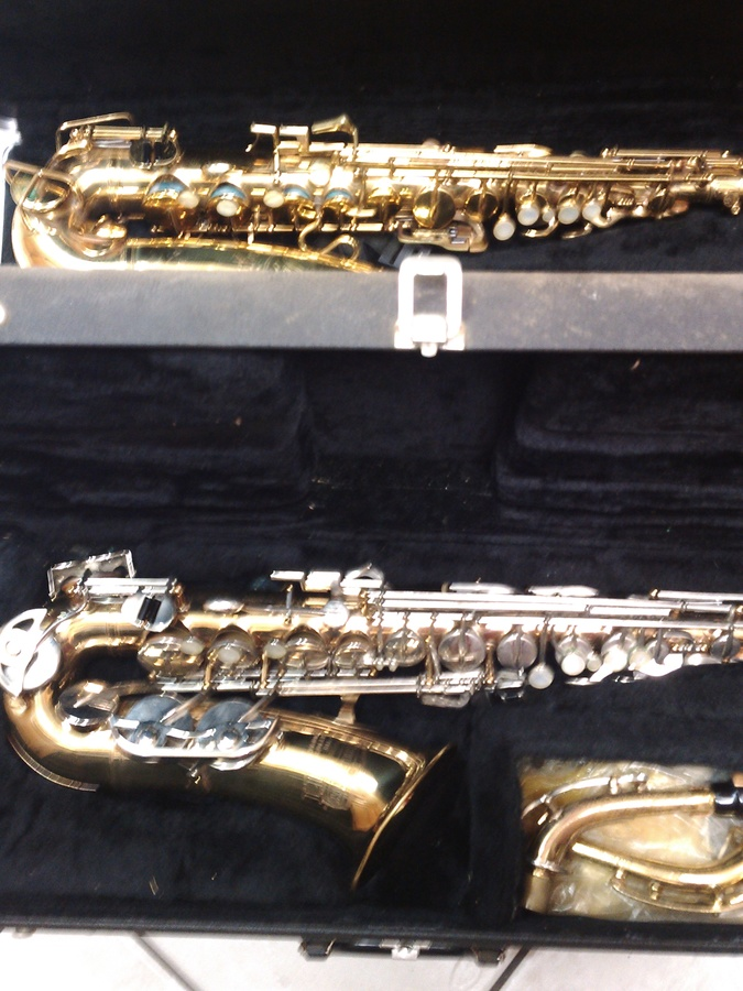 I Have Two Selmer Saxophone Serial Numbers 1054684, Signet