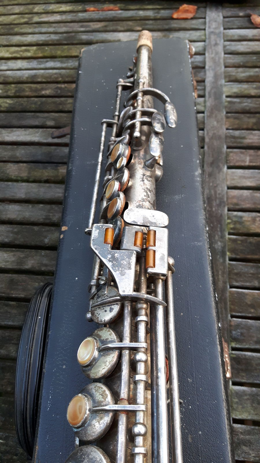 pierret competition bb soprano for sale from the netherlands serial 31602 saxophone people. Black Bedroom Furniture Sets. Home Design Ideas