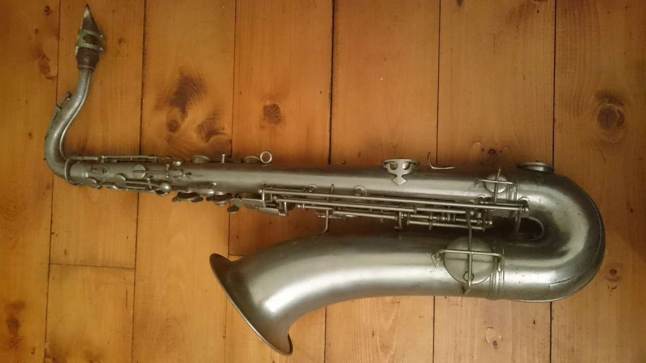 Clearing Our Attic I've Found A Conn Sax, High Pitch Tenor