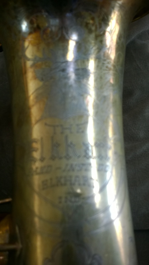 The Elkhart Band Co Alto Sax | Saxophone People