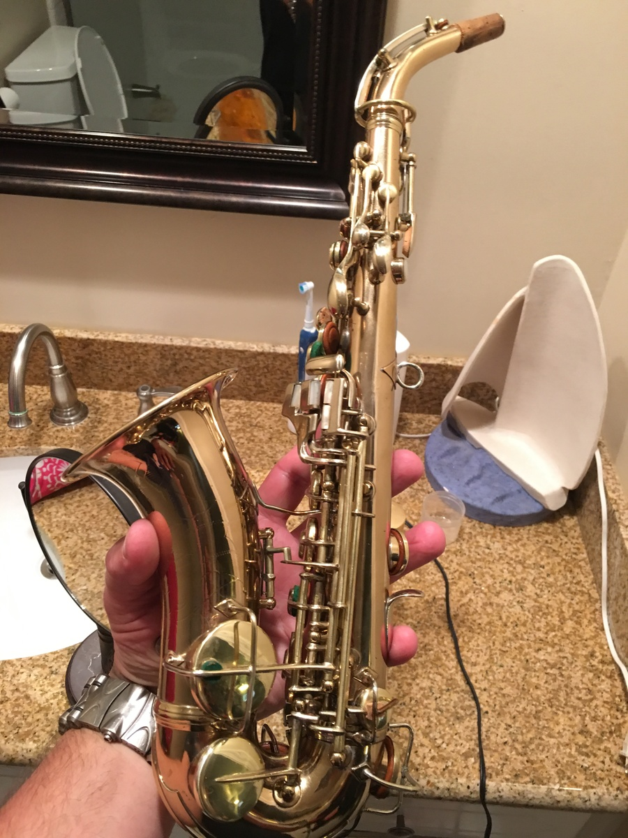 can you tell me the maker and the possible value of this alto sax saxophone people. Black Bedroom Furniture Sets. Home Design Ideas
