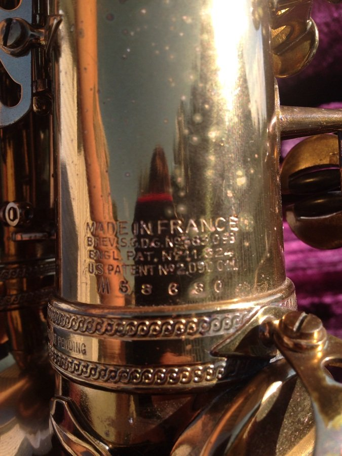 I Have A 1954 Selmer Alto Mark Vi   The Serial Number Is